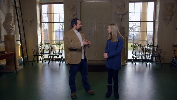 Innovations in the Great Hall and Jefferson's Office (Clip 1) | Exploring Monticello