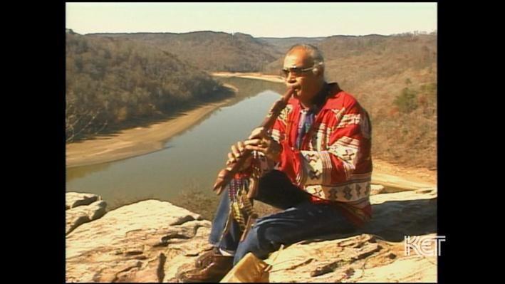 Native American: Iroquois Flute Maker