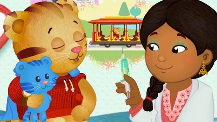 Going to the Doctor's Office with Daniel Tiger & Mister Rogers