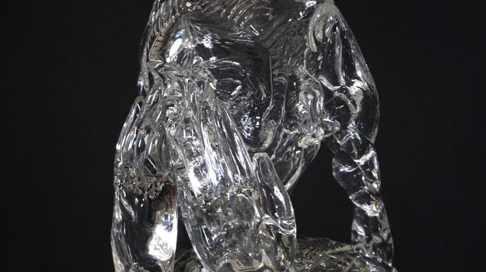 Jaime Guerrero's Life Size Glass Child Figure | Craft in America