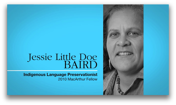 Jessie Little Doe Baird, Linguist | MacArthur Fellows Program