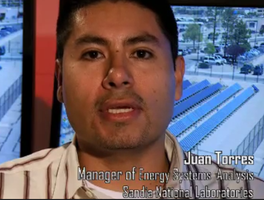 Juan Torres, Manager of Energy Systems Analysis