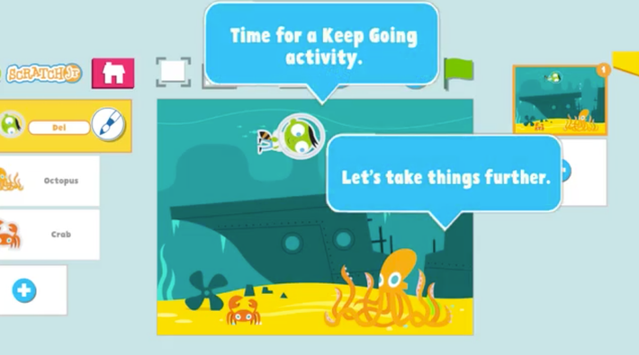 Keep Going | PBS KIDS ScratchJr