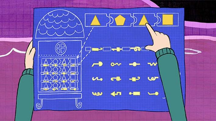 Triangle, Pentagon, Triangle, Square! | Peg + Cat
