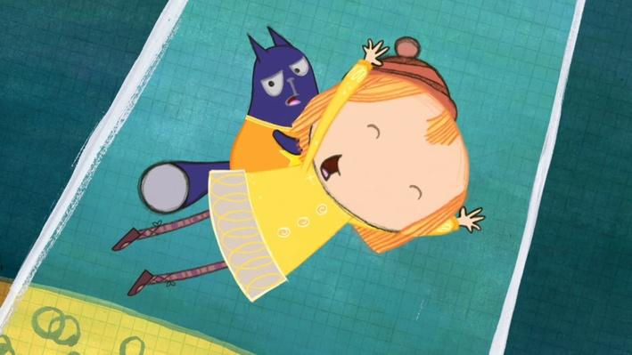 Peg and Cat Fly Over 12 Monkeys | Peg + Cat