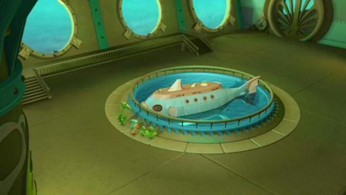 Dinosaur Train | Introducing the Dinosaur Train Submarine!