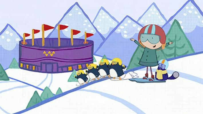 Animal Winter Olympics | Peg + Cat