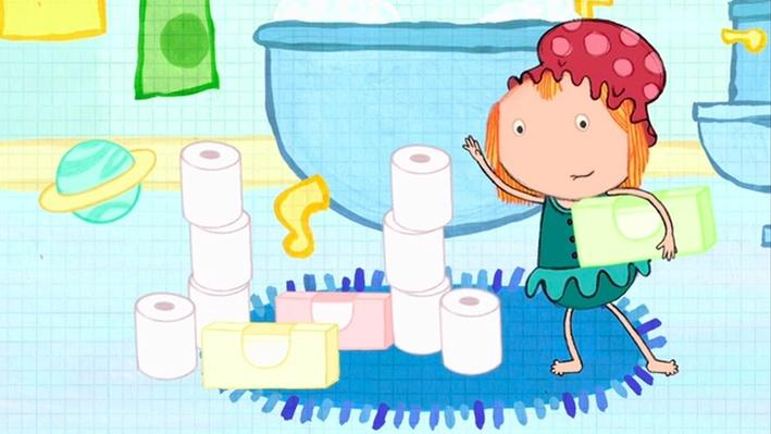 Math in the Bath: Building a Rocket with Shapes - Peg + Cat | PBS KIDS Lab