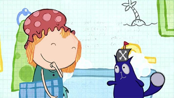 Math in the Bath: Heavy Treasure | Peg + Cat