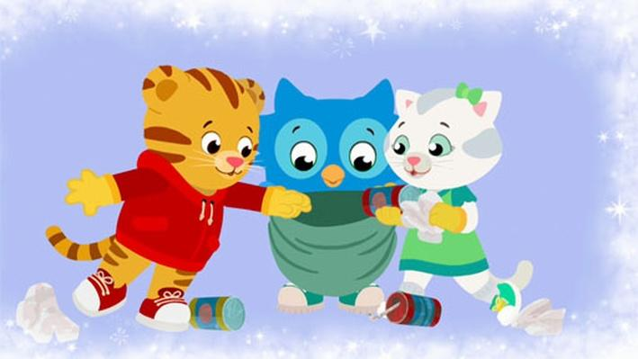 Clean Up, Pick Up, Put Away Strategy Song | Daniel Tiger's Neighborhood