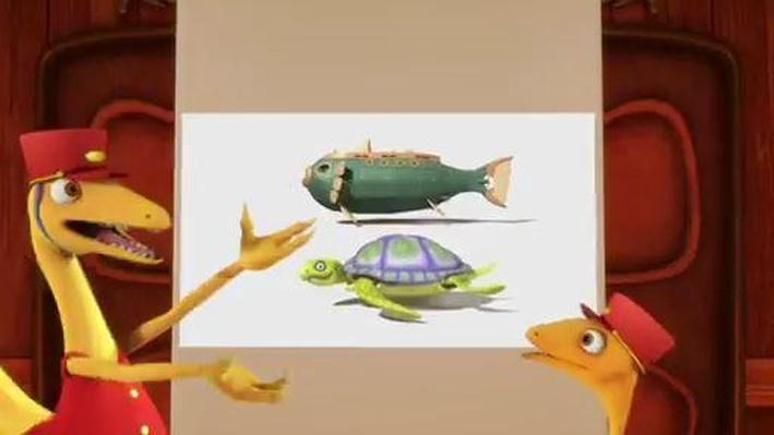 Dinosaur Train | The Kids Learn about Archelons