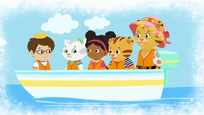 Stay Safe Near the Water Strategy Song | Daniel Tiger's Neighborhood