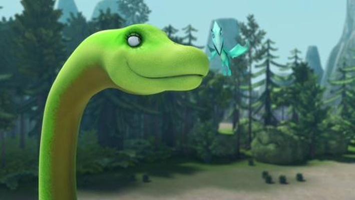 Dinosaur Train | Denise Diplodocus's Long Neck