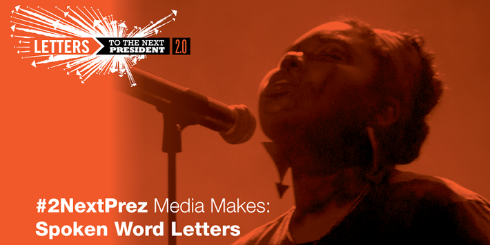 L2P 2.0 Media Make: Spoken Word Letters