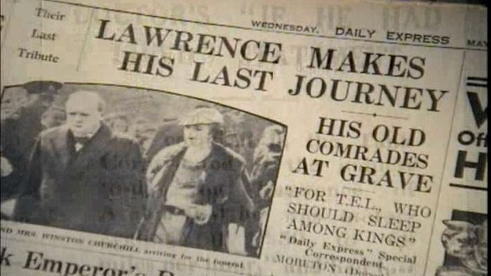 Lawrence of Arabia: The Battle for the Arab World | Death