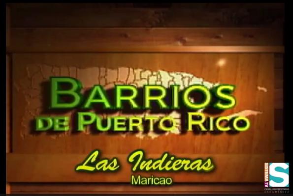 Barrios de Puerto Rico:Las Indieras de Maricao