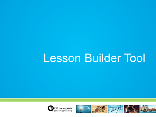 Lesson Builder Tutorial