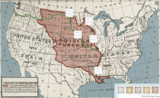 Louisiana Purchase Social Studies Media Gallery PBS