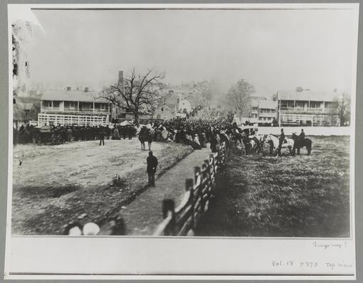 Procession into Gettysburg