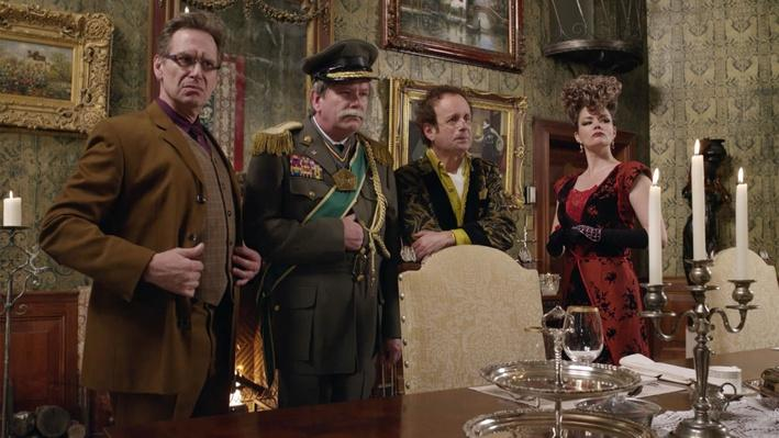 Lord Rectangle, Ms. Triangle, Gen. Pentagon and Prof. Square   The Odd Squad