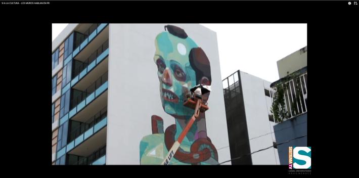 Los Muros hablan en Puerto Rico: Primer Festival de Arte Urbano