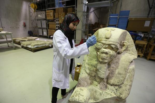 Preserving a Mummy | Egypt's Treasure Guardians