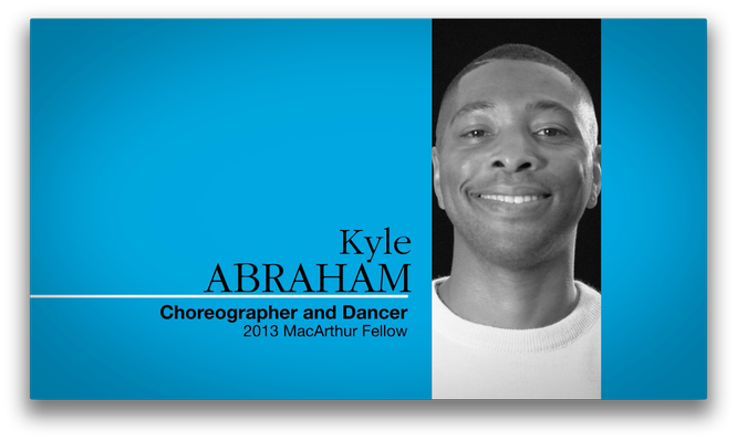 Kyle Abraham, Choreographer and Dancer | MacArthur Fellows Program