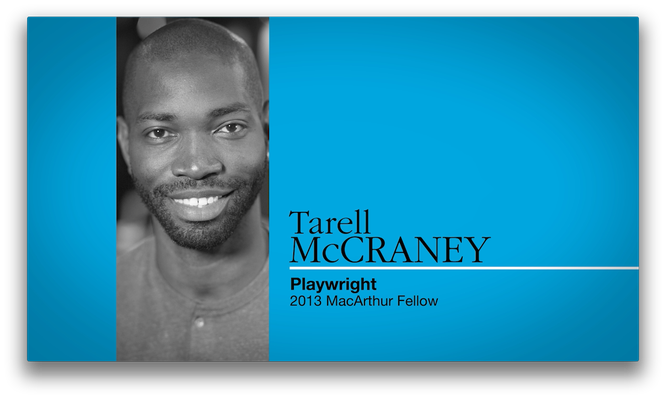 Tarell Alvin McCraney, Playwright and Actor | MacArthur Fellows Program