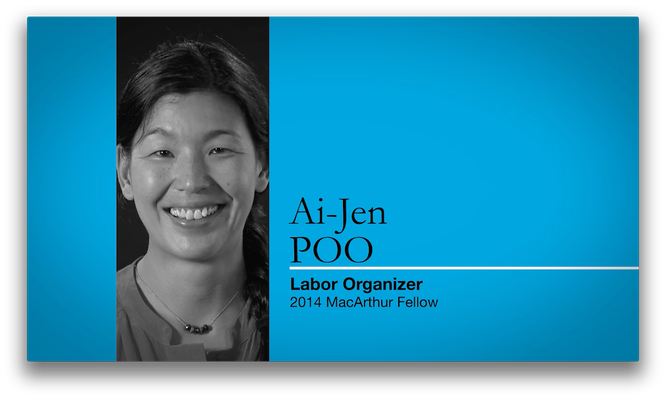 Ai-jen Poo, Labor Organizer | MacArthur Fellows Program