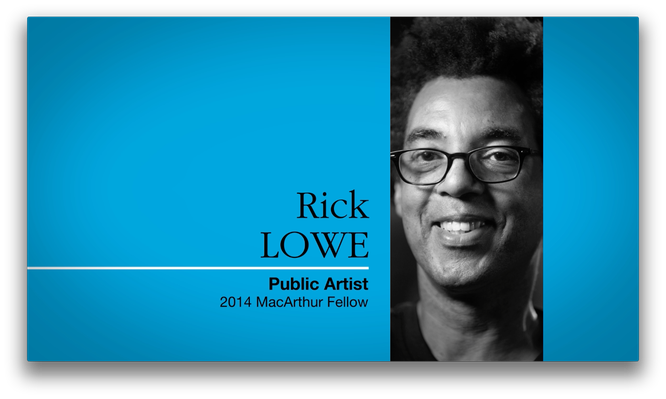 Rick Lowe, Artist and Community Organizer | MacArthur Fellows Program
