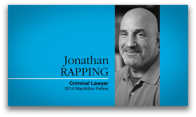 Jonathan Rapping, Lawyer and Legal Defense Advocate | MacArthur Fellows Program