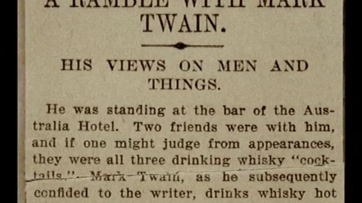 Mark Twain, Part 2: The Lecture Circuit