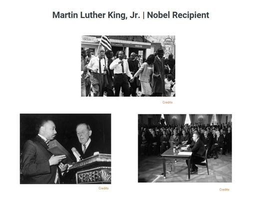 Martin Luther King, Jr. | Nobel Winner