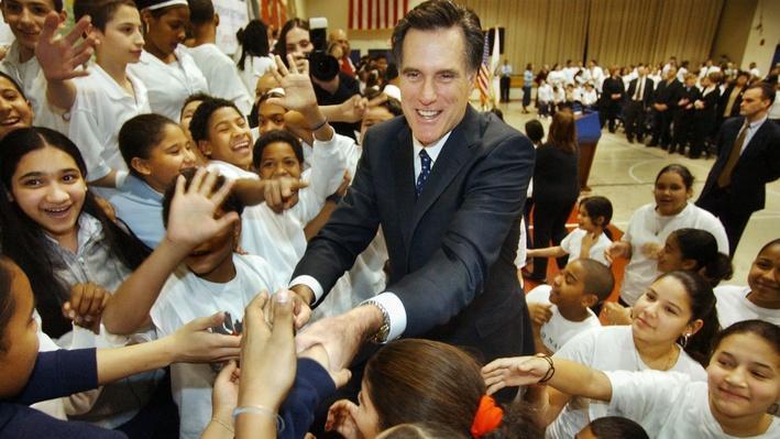 Mitt Romney: Interactive Timeline