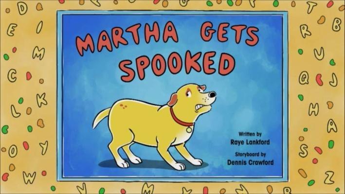 Martha Speaks: Martha Gets Spooked   Introduction