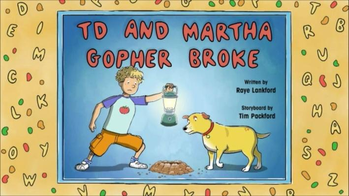 Martha Speaks: T.D. and Martha Gopher Broke | Introduction