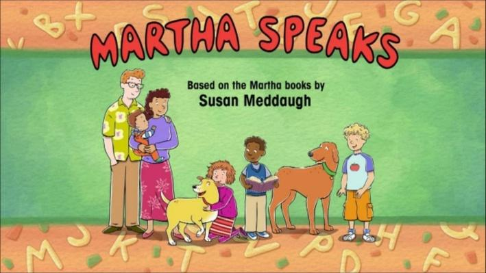 "Martha Speaks: ""Dogs in Space"" & ""Dogs from Space"""