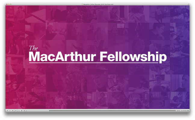Overview | MacArthur Fellows Program