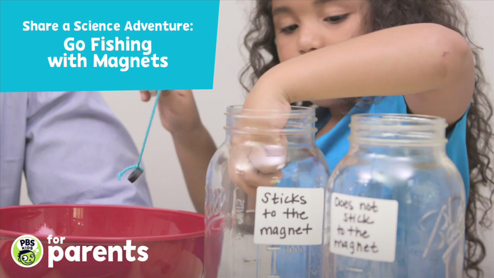 Magnet Fishing - Video | Science Crafts for Kids