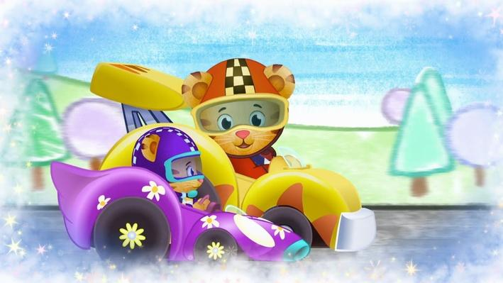 Margaret and Daniel Can Drive So Fast! | Daniel Tiger's Neighborhood