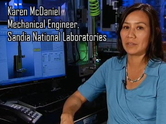 Karen McDaniel, Mechanical Engineer