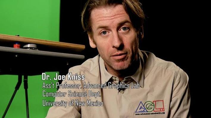 Joe Kniss, Assistant Professor, Advanced Graphics Lab