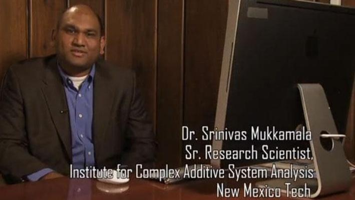 Dr. Srinivas Mukkamala, Sr. Research Scientist