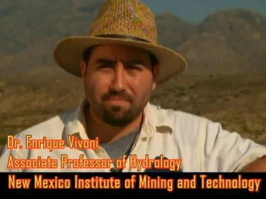 Dr. Enrique Vivoni, Associate Professor of Hydrology