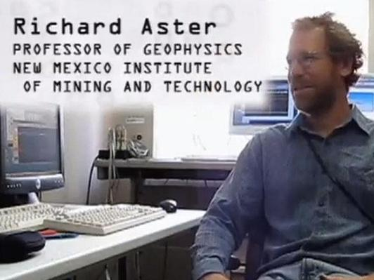 Richard Aster, Professor of Geophysics