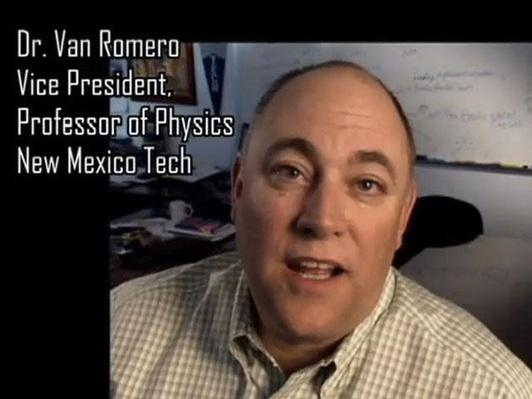 Dr. Van Romero, Vice President, Professor of Physics