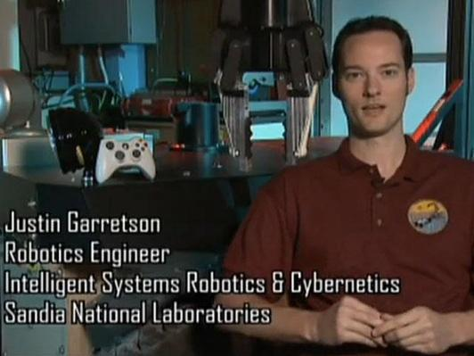 Justin Garretson, Robotics Engineer