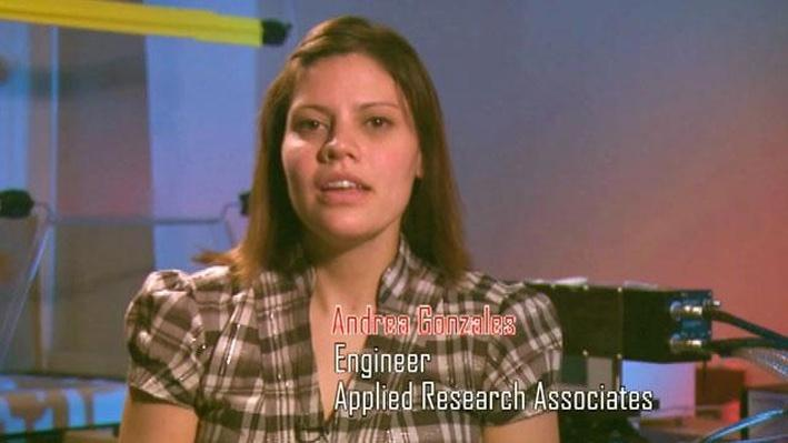Andrea Gonzales, Engineer