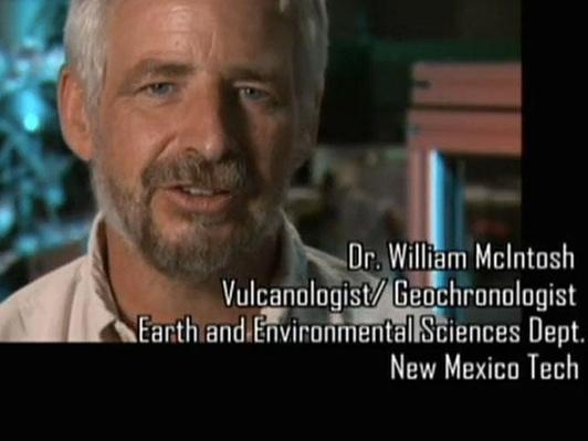 Dr. William McIntosh, Vulcanologist/Geochronologist