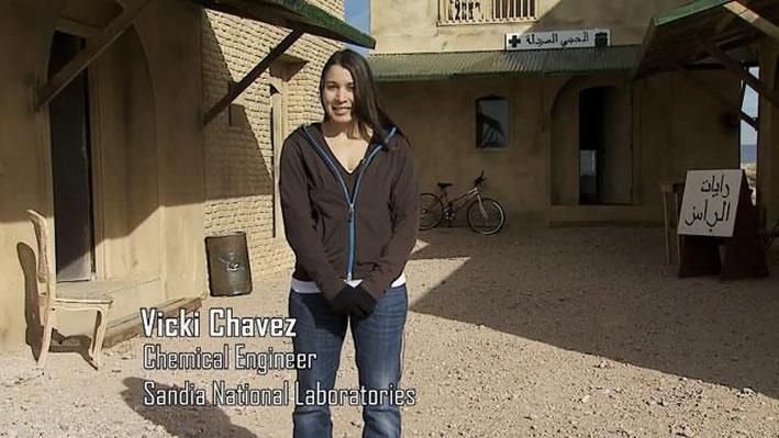 Vicki Chavez, Chemical Engineer
